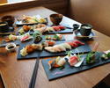 All you can drink! Sushi Omakase 9pc course ¥6900