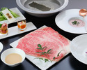 Shabu-shabu of KISSHO (Dinner)