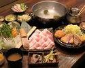 Shabu-shabu and Pork cutlet course【10ppl~】