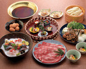 すき焼きのお鍋+飲み放題 8,000円