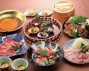 おうどんのお鍋+飲み放題 (8000円)