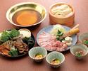 うどんすきお鍋+飲み放題コース 5800円