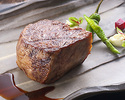 A mass of  Kobe beef steak course 250 g  (reserved by 3 days in advance)