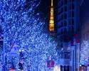 【X'mas2018】TOKYO懐石を楽しむ大人のクリスマス4日間 (12月23日・24日 or 22日・25日)