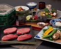 Matsusaka beef dumpling course