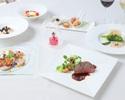 【Xmasランチ】乾杯スパークリング付!前菜、選べるパスタ、鮟鱇のムニエル、牛ステーキなど全6品