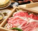 【忘年会や宴会に!】90分飲み放題付き!松阪牛・黒豚・合鴨3種のしゃぶしゃぶコース