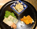 [Lunch only] Higashiyama Light course 5,500JPY (Limited to 3 groups a day)