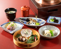 [Lunch only] Higashiyama Light course 8,800JPY (Limited to 3 groups a day)