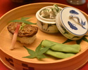 [Lunch only] The Kaiseki course for vegetarian 11,000JPY