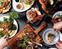 1.5h飲み放題付◎自慢の無農薬野菜とお肉をしっかり楽しもう!