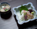 """[Lunch only] Kyoto-style Kaiseki ''Yokohue"""" 13,200JPY (Over 10 People)"""