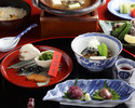 Soft-shelled turtle-centric Kaiseki course 20,000JPY (Over 10 People)