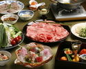 Beef Shabu-shabu Combo