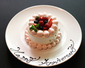 【Anniversary Lunch】Lunch Course with a glass of Sparkling wine and Hotel special anniversary cake