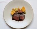 【ディナー】7,600円 メイン料理が選べる季節のディナーコース全6品~フリードリンク付~
