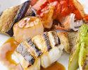 【平日限定】三種魚介の鉄板焼ランチ