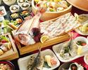 【ざうお会席】魚釣付コース★ 2h飲み放題付き10,000円(税込)