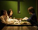 リッチな個室でオトナ女子会すし・串・ワインのパーティプラン(カラオケ3時間付き)
