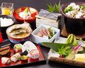 【個室】7月のおすすめ会席料理「 文月会席 」 6,600円(税サ込)