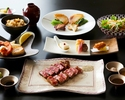 """【Dinner - Official Online Special! A Glass of Rosé Champagne】Brand Wagyu Beef Dinner Course """"YAMATO"""""""