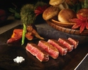 "【Dinner - Official Online Special! A Glass of Rosé Champagne】Brand Wagyu Beef Dinner Course ""ASHIGARA"""