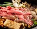 Special Omi beef sukiyaki course miyabi ~