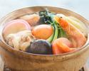 【昼の部】鍋焼きうろん