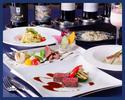 【ディナー・3時間飲み放題付き】ワイン好きのお客様への接待にもおすすめの飲み放題と・2種のパスタ・魚料理・肉料理・デザートなどを含む7品フルコースディナープラン