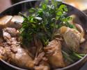 【ディナー】鳥すきコース