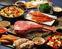 【公式最安値/メインはトマホークステーキのプレミアムコース】SORAMIDO BBQコース ソフトドリンク飲み放題付き ※2.5時間制