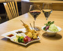 Lunch set YUZU (eight chopsticks)