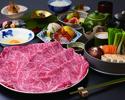 松阪牛(1%の奇跡)すき焼コース