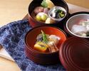 【ランチ限定 テーブル席】三段重弁柄弁当