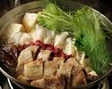 鯨ハリハリ鍋Bコース  「鰹のたたき」と「鯨料理1品」が付いたコース