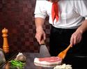 """【Teppanyaki Dinner】 """"KITASATSUMA-BEEF"""" 200g"""