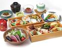 お昼×テーブル席!旬菜11種盛合せ・鰹たたき等 全7品17種【かんざし御膳】