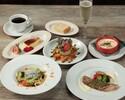 平日限定【乾杯スパーク&カフェ付】メインは三元豚のローストなど全5品 ランチプラン ¥2000