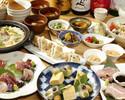 【ちょっと贅沢に!】冬の味覚コース 牡蠣や白子、鯛の炊き込みご飯など8品《5500円》