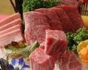 銀座6丁目限定【銀座コース】厚切り上タン塩ほか、厳選された9種の特選肉を様々な調理法で堪能できるお肉尽くしの特別コース