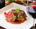 【料理のみ】充実の前菜と肉魚も愉しめるgrigio特選Wメインコース