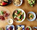 秋の彩りコース~かんぱちのカルパッチョなど夏の食材を使用した彩り7品~