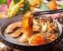 ビアホール】サムギョプサルお肉&包み野菜食べ放題コース