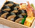 足赤海老の天巻き弁当