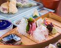 Japanese  Teishoku(Set Meal) with  dessert