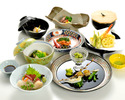【a traditional Japanese course dinner】 Flowers