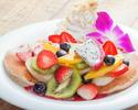 【ランチ】選べるハワイアンパンケーキのスペシャルランチコース