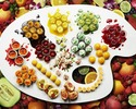 ● 【 Online Reservation  Exclusive】 (Sunday, National Holiday) Colorfruits Dessert Buffet  @4800 Yen