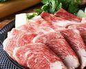 2時間飲み放題 特選黒毛和牛すき焼きコース 5500円(全8品)