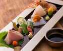 [Inexpensive taste course] Sashimi, etc, 9 dishes of seasonal fish (with all you can drink) Tax-included 8000 yen